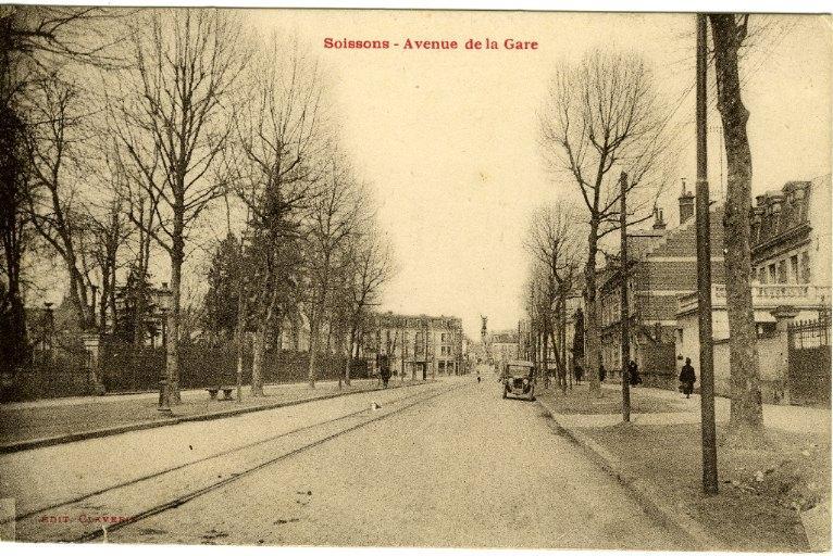 Soissons - Avenue de la gare