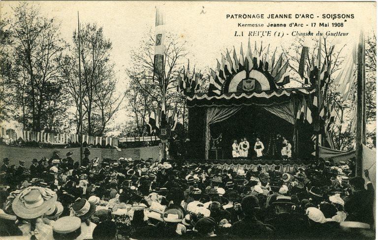 Soissons - Patronage 'Jeanne d'Arc', kermesse 17 mai 1908 - La revue - Chanson du guetteur_0