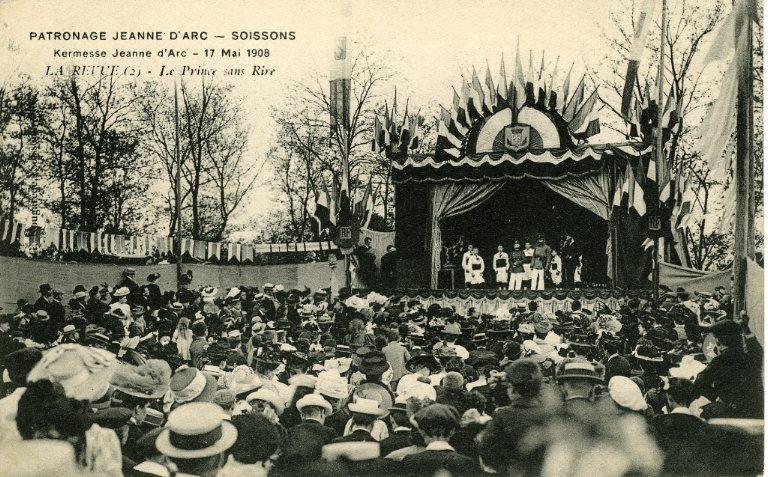 Soissons - Patronage 'Jeanne d'Arc', kermesse 17 mai 1908 - La revue - Le prince sans rive