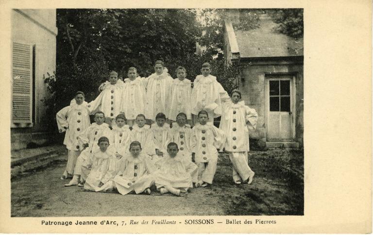 Patronage 'Jeanne d'Arc' - Soissons - Ballet des Pierrots_0