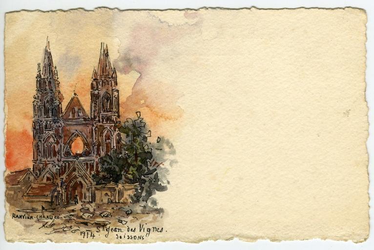 Soissons - 1914 - Saint-Jean-des-Vignes_0