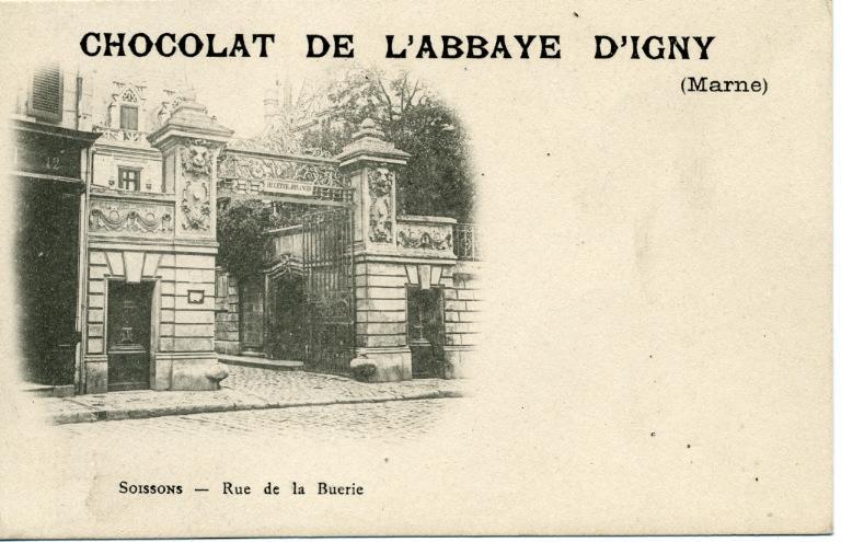 Soissons - Rue de la Buerie - Chocolat de l'abbaye d'Igny_0