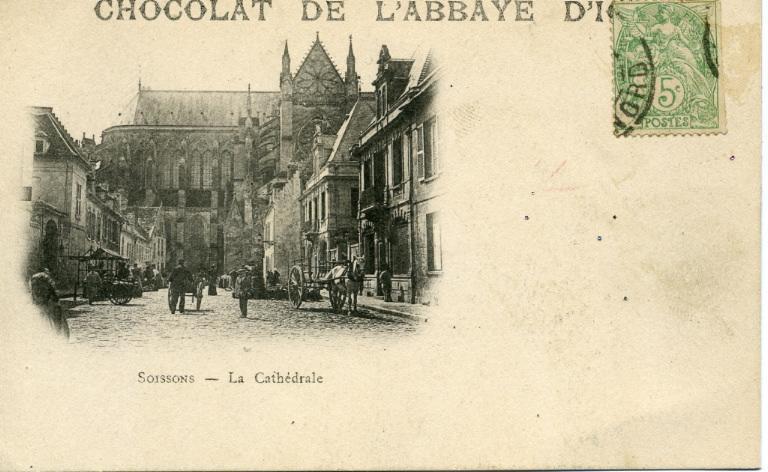 Soissons - La cathédrale