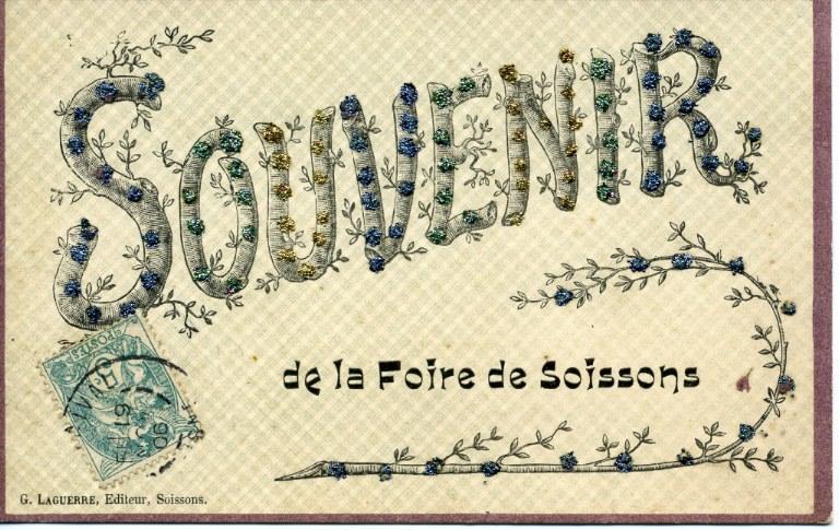 Souvenir de la foire de Soissons