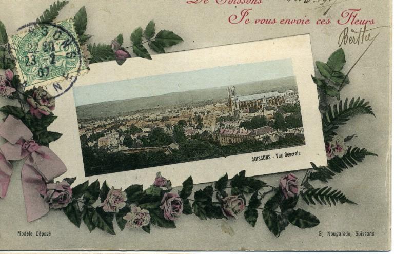 De Soissons je vous envoie ces fleurs - Vue générale_0