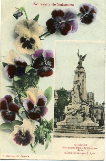 Souvenir de Soissons - Monument élevé à la mémoire de la défense nationale_0