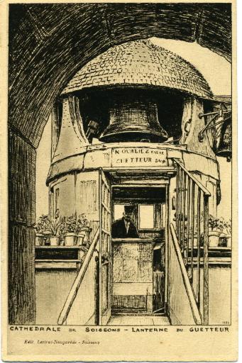 Cathédrale de Soissons - Lanterne du guetteur_0