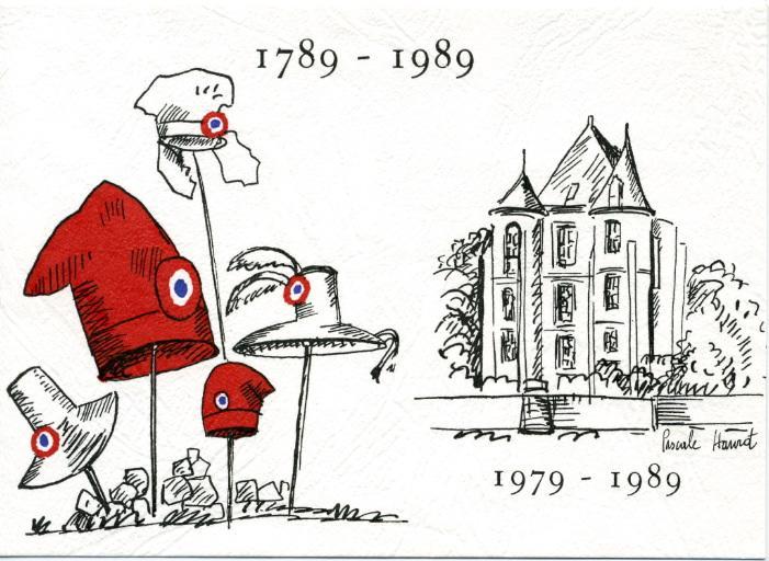 1789-1989 / 1979-1989 (Vic-sur-Aisne - Le soissonnais)