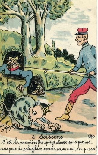 A Soissons c'est la première fois que je chasse sans permis.._0