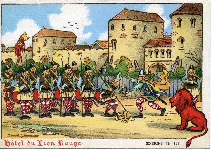 Soissons - Hôtel du lion rouge