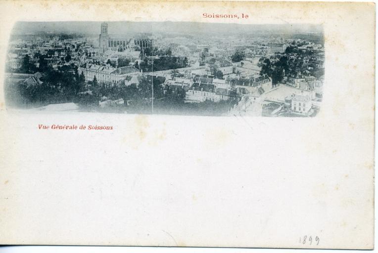 Soissons - Vue générale