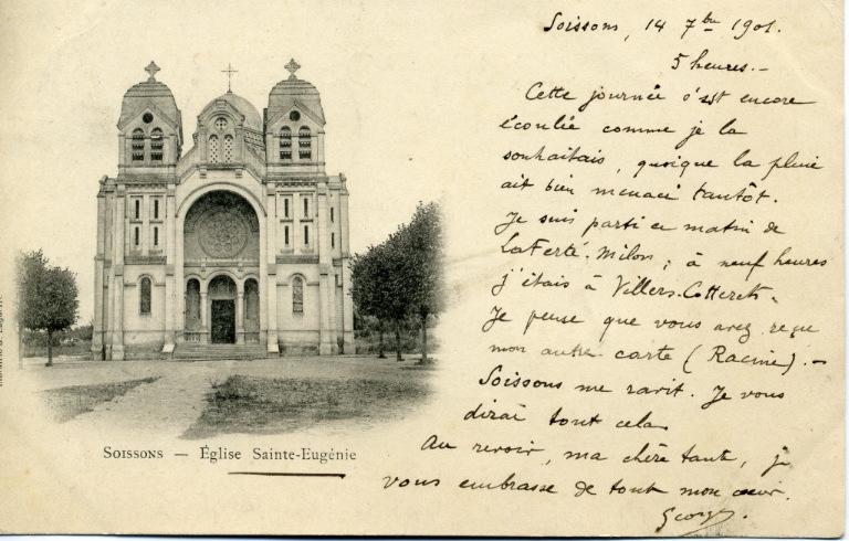 Soissons - Eglise Sainte Eugénie