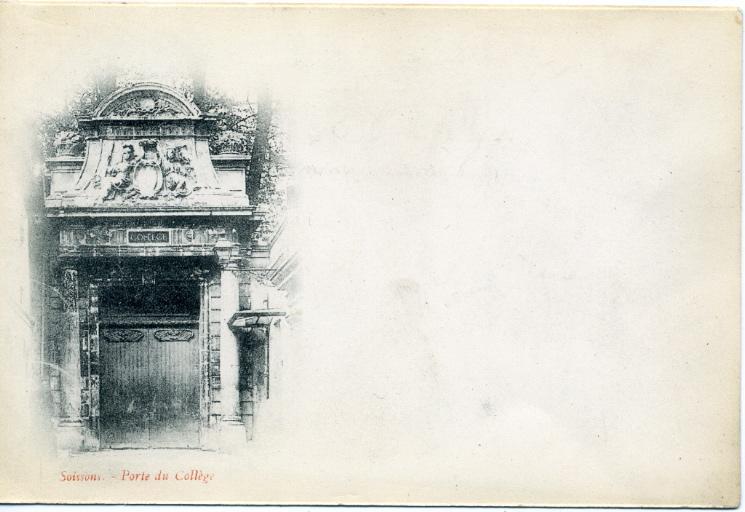 Soissons - Porte du collège_0