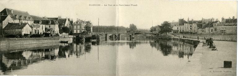 Soissons - Le port et le pont Saint-Waast_0