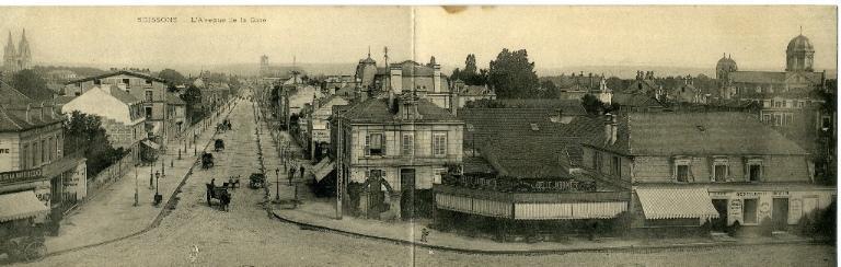 Soissons - L'avenue de la gare