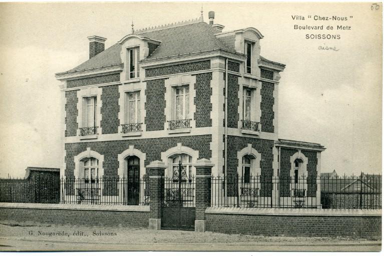 Soissons - Villa 'chez nous' - Boulevard de Metz_0