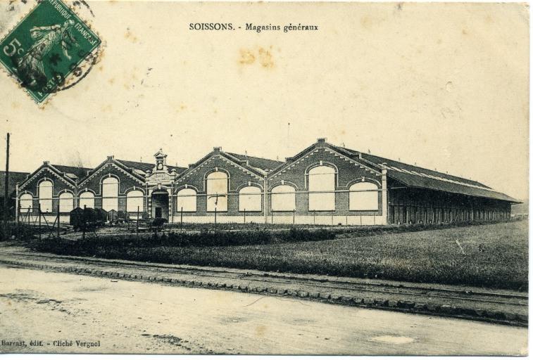 Soissons - Magasins généraux_0