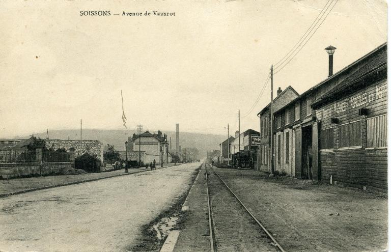 Soissons - Avenue de Vauxrot_0