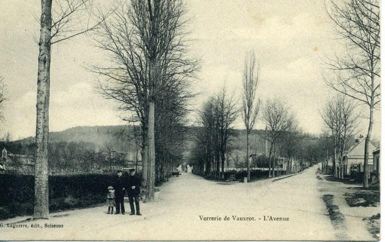 Soissons - Verrerie de Vauxrot - L'avenue