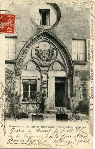Soissons - Le temple maçonnique_0