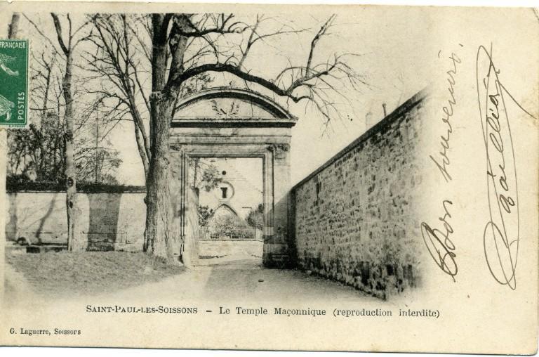 Saint-Paul-les-Soissons - Le temple maçonnique_0