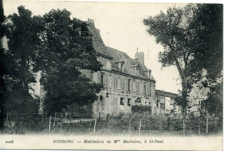 Soissons - Habitation de Mme Macherez, à Saint-Paul_0