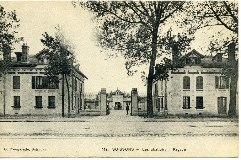 Soissons - Les nouveaux abattoirs - La façade_0