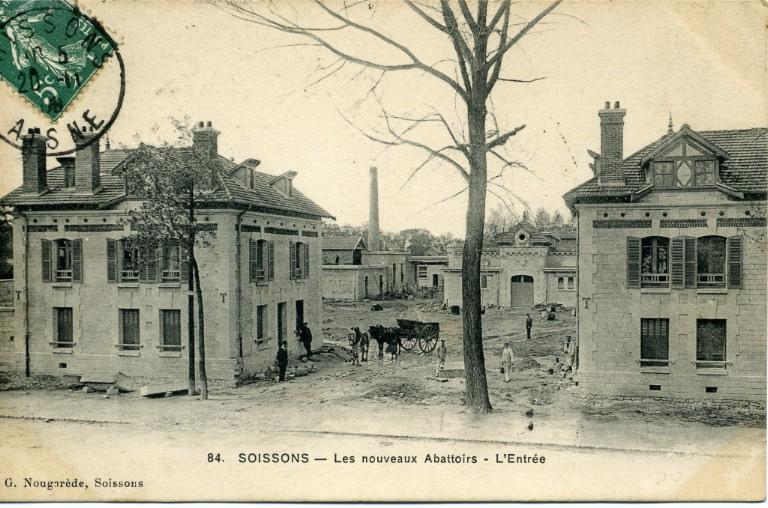 Soissons - Les nouveaux abattoirs - L'entrée_0