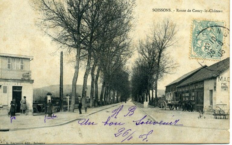 Soissons - Route de Coucy-le-château_0