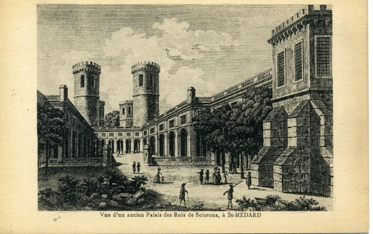 Soissons - Vue d'un ancien palais des rois de Soissons, à Saint-Médard_0