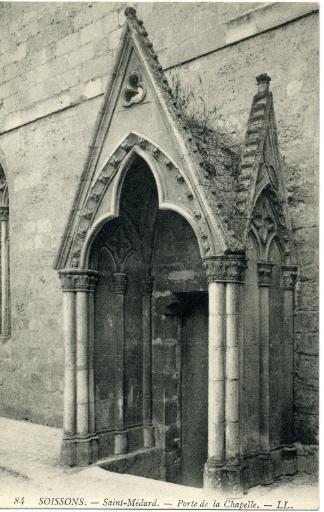 Soissons - Saint-Médard - Porte de la chapelle_0