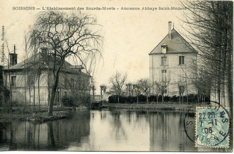 Soissons - L'établissement des sourds-muets - Ancienne abbaye Saint-Médard