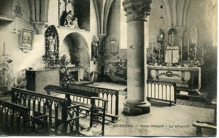 Soissons - Saint-Médard - La chapelle_0