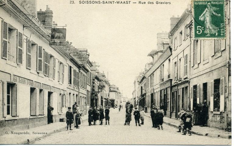 Soissons - Saint-Waast - Rue des graviers_0