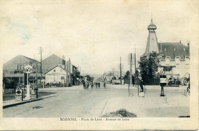 Soissons - Porte de Laon - Avenue de Laon_0