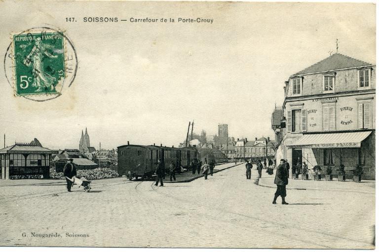 Soissons - Carrefour de la porte-Crouy_0