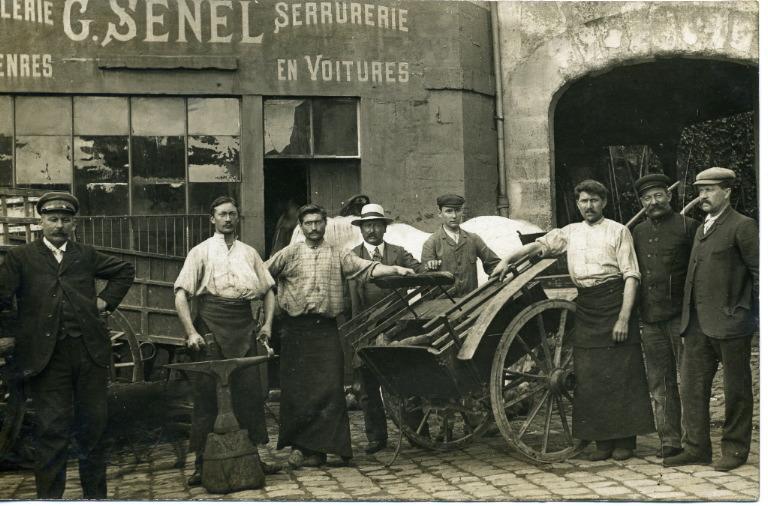 Soissons - G. SENEL, Maréchalerie en tous genres, serrurerie en voiturtes_0