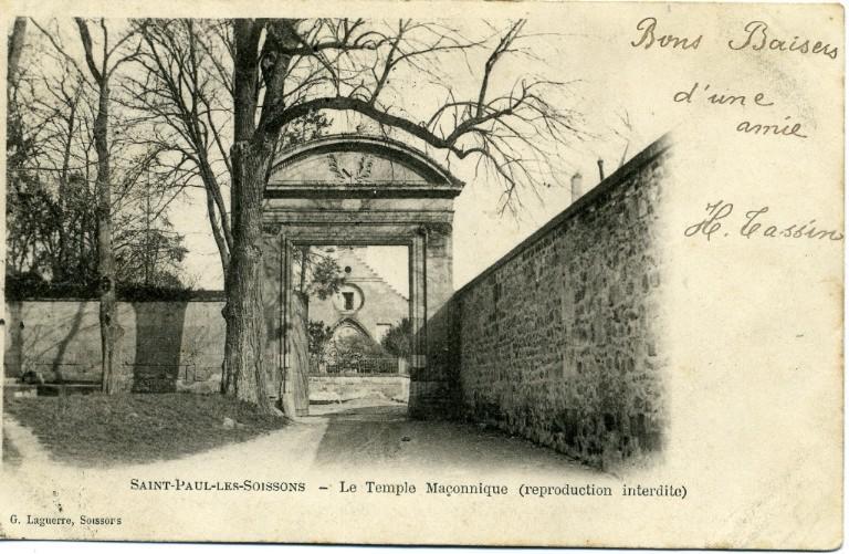Soissons - Saint-Paul-les-Soissons - Le temple maçonnique