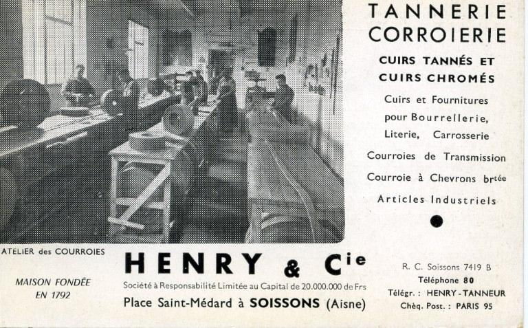 Soissons - Henry & Cie - Tannerie corroierie_0