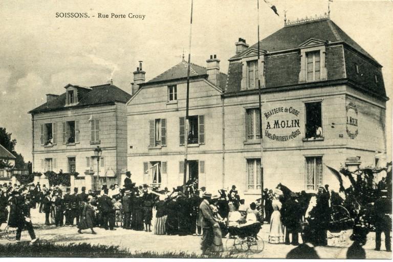 Soissons - Rue porte Crouy_0