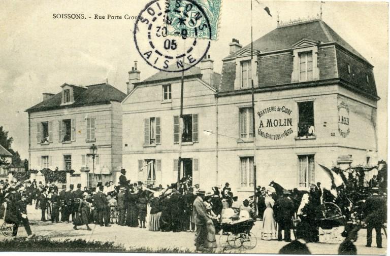 Soissons - Rue porte Crouy