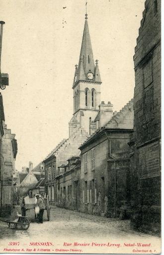 Soissons - Rue Messire Pierre-Leroy Saint-Waast_0