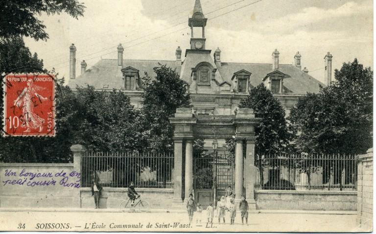 Soissons - L'école de Saint-Waast