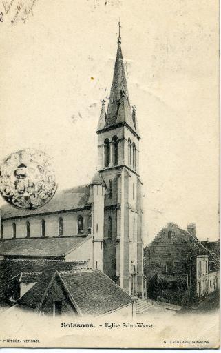 Soissons - Église Saint-Waast