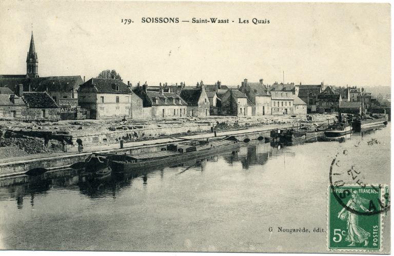 Soissons - Saint-Waast - Les quais