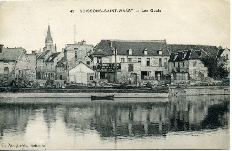Soissons - Saint-Waast - Les quais_0