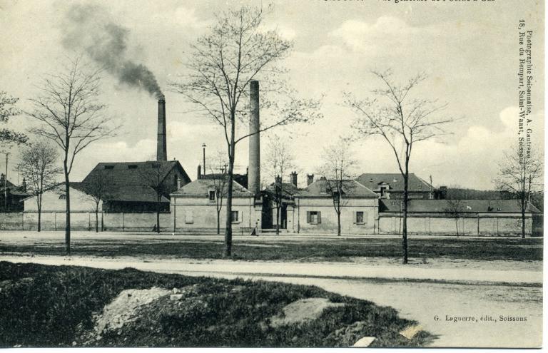 Soissons - Vue générale de l'Usine à gaz_0