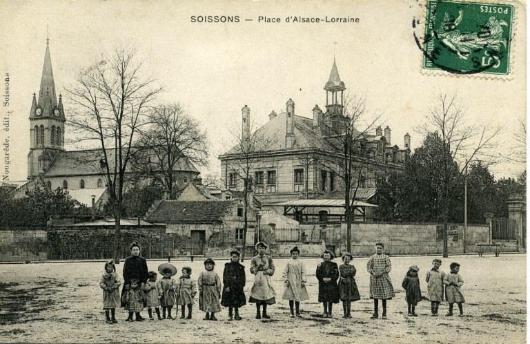 Soissons - Place d'Alsace-Lorraine_0