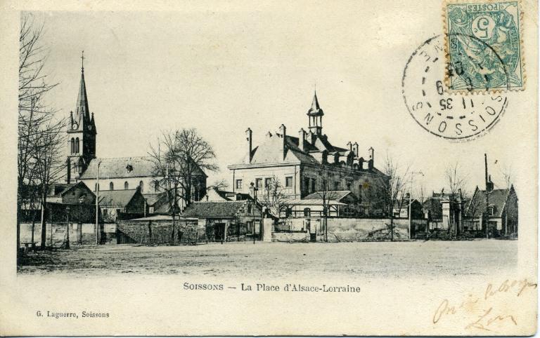 Soissons - La place d'Alsace-Lorraine_0