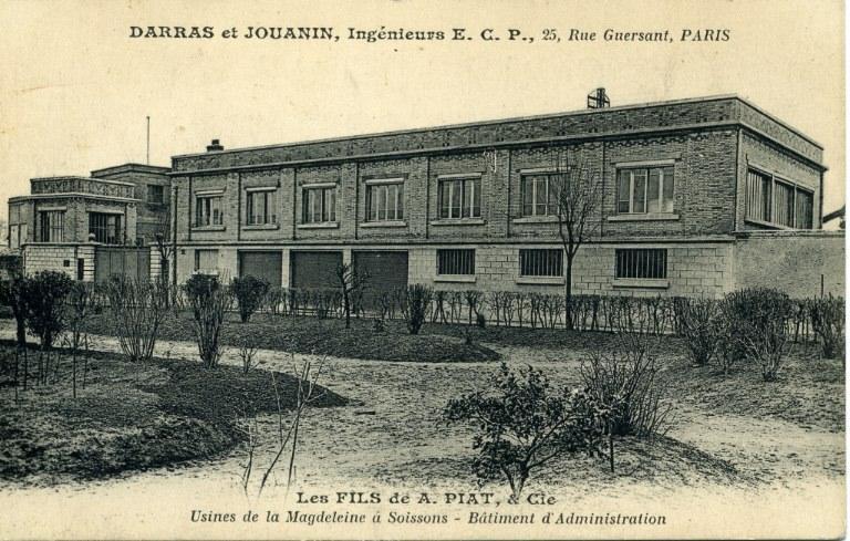 Soissons - Darras et Jouanin, ingénieurs E.C.P., 25, rue Guersant, Paris